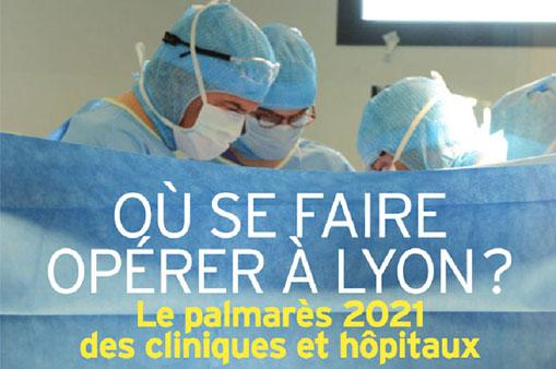 Le Centre d'Urologie Lyon Ouest dans le TOP 10 de MAG2LYON (avril 2021) !